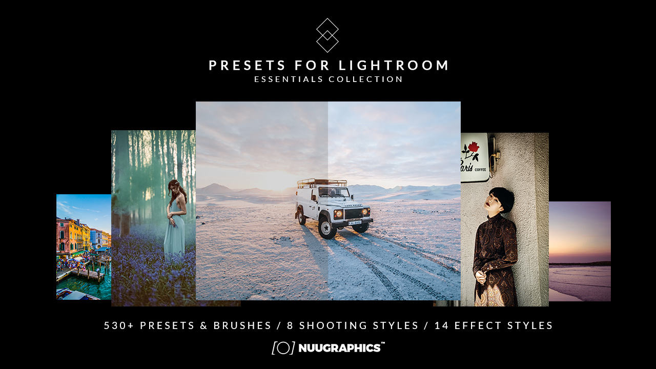 500+ Presets for Lightroom ESSENTIALS Collection
