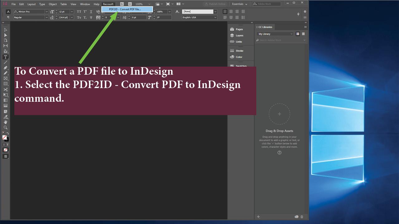 PDF2ID for Windows (Lite)