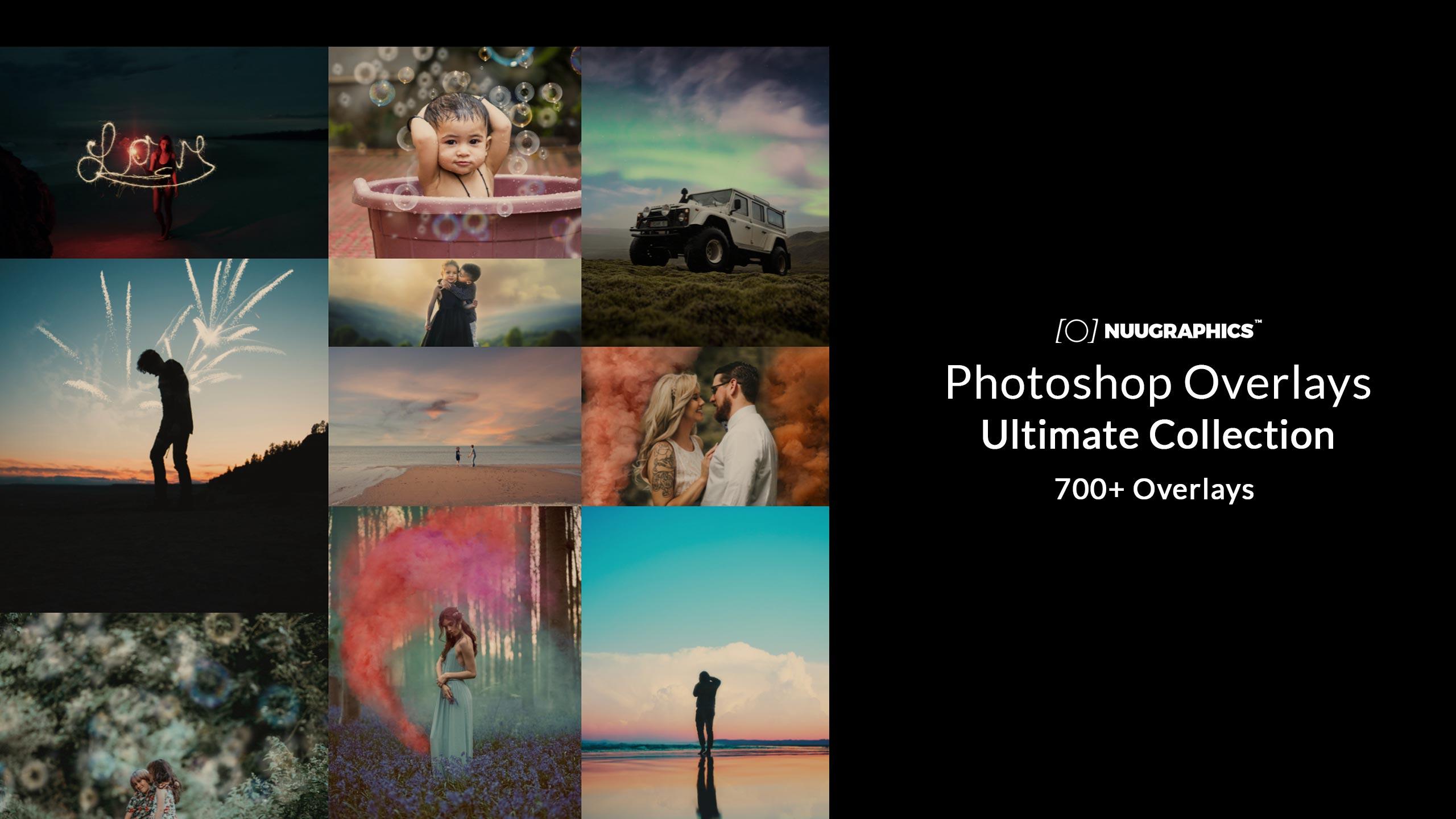 600+ Photoshop Overlays