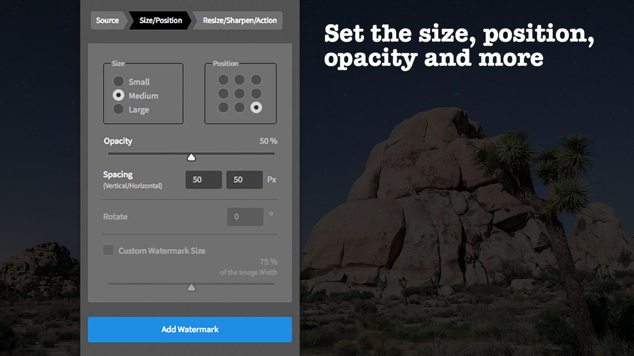 Watermark for Adobe Photoshop CC (English)