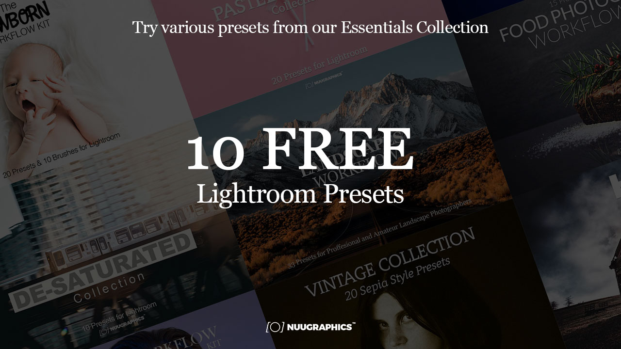 10 Free Presets For Lightroom