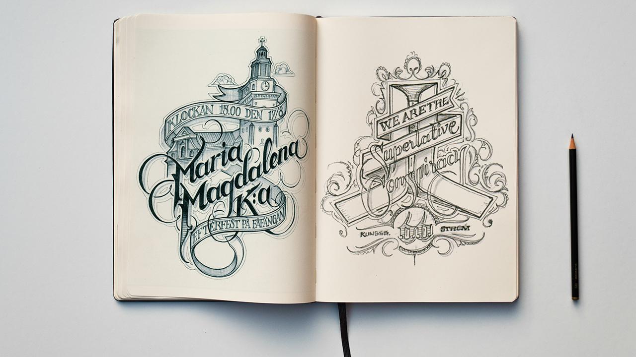 Sketch Book Mockups Template