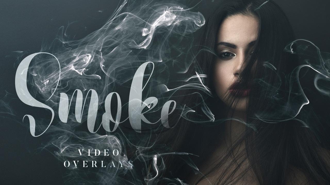 Smoke Video Overlays Pack