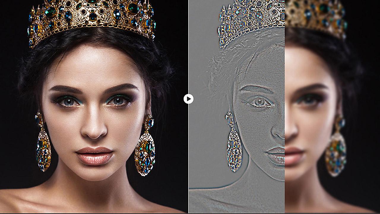 Skin retouching photoshop tutorial youtube.