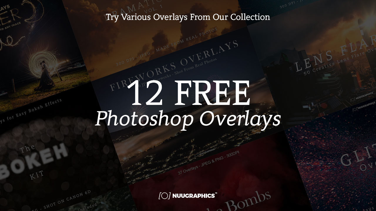 12 Free Overlays for Photoshop