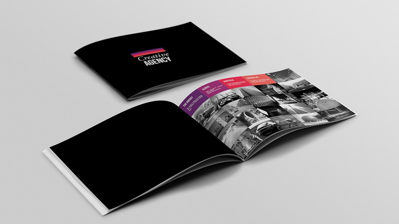 Portfolio Brochure Template - Portfolio brochure template