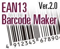 EAN13 Barcode Maker