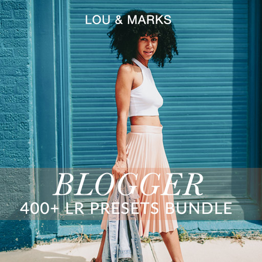 400 Modern Blogger Presets For Lightroom