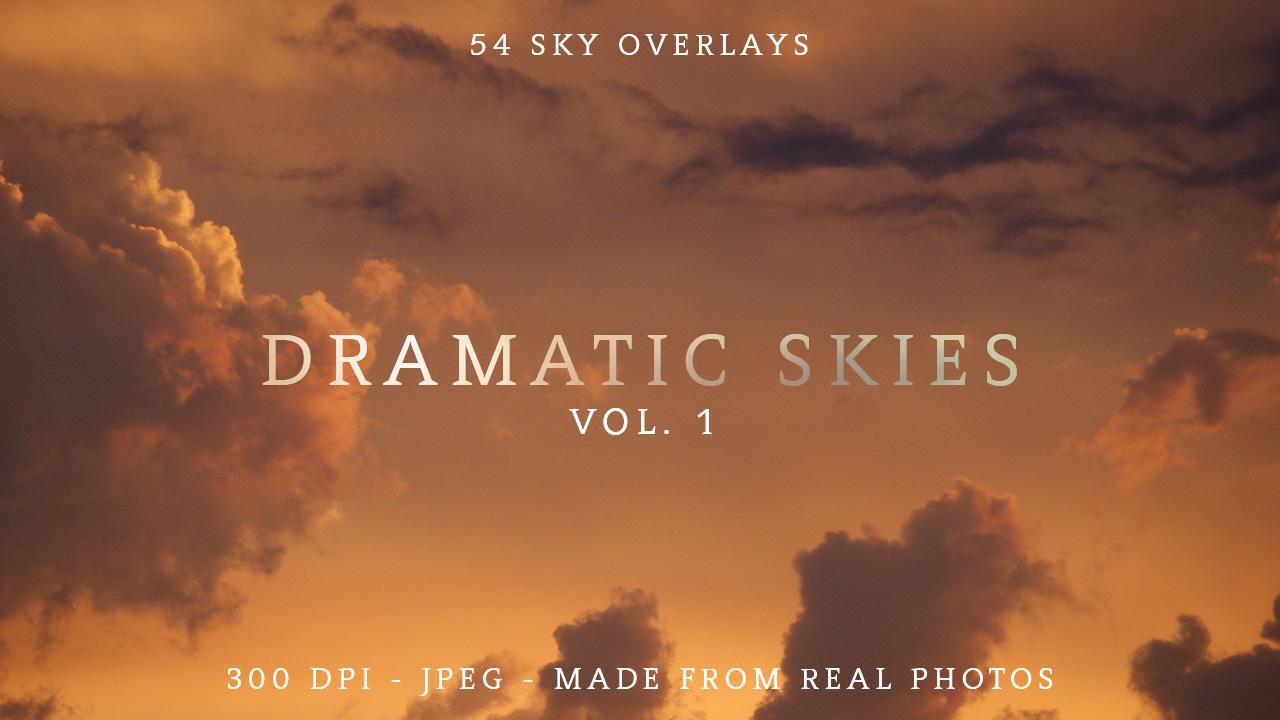 Sky and Cloud Photo Overlays