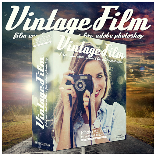Vintage Film Actions for Photoshop