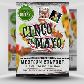 free cinco de mayo flyer