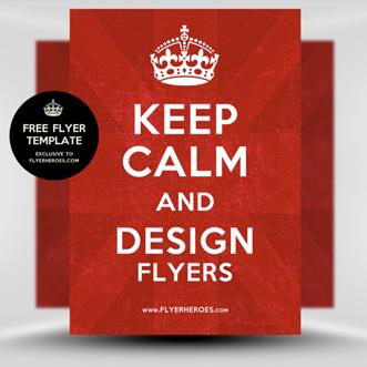 Keep Calm Flyer