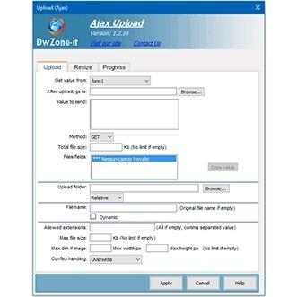 ASP Ajax Back Upload