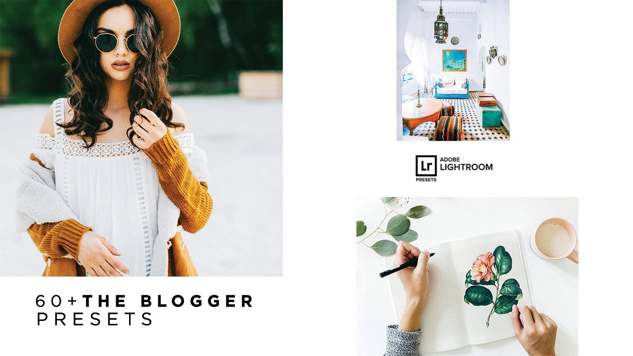 60+ Blogger Lightroom Presets Collection