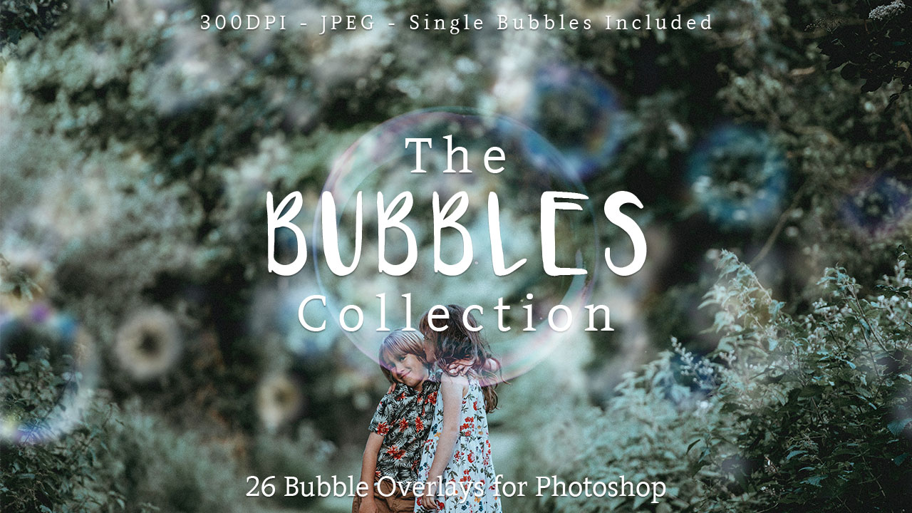 Bubble Overlays For Photoshop