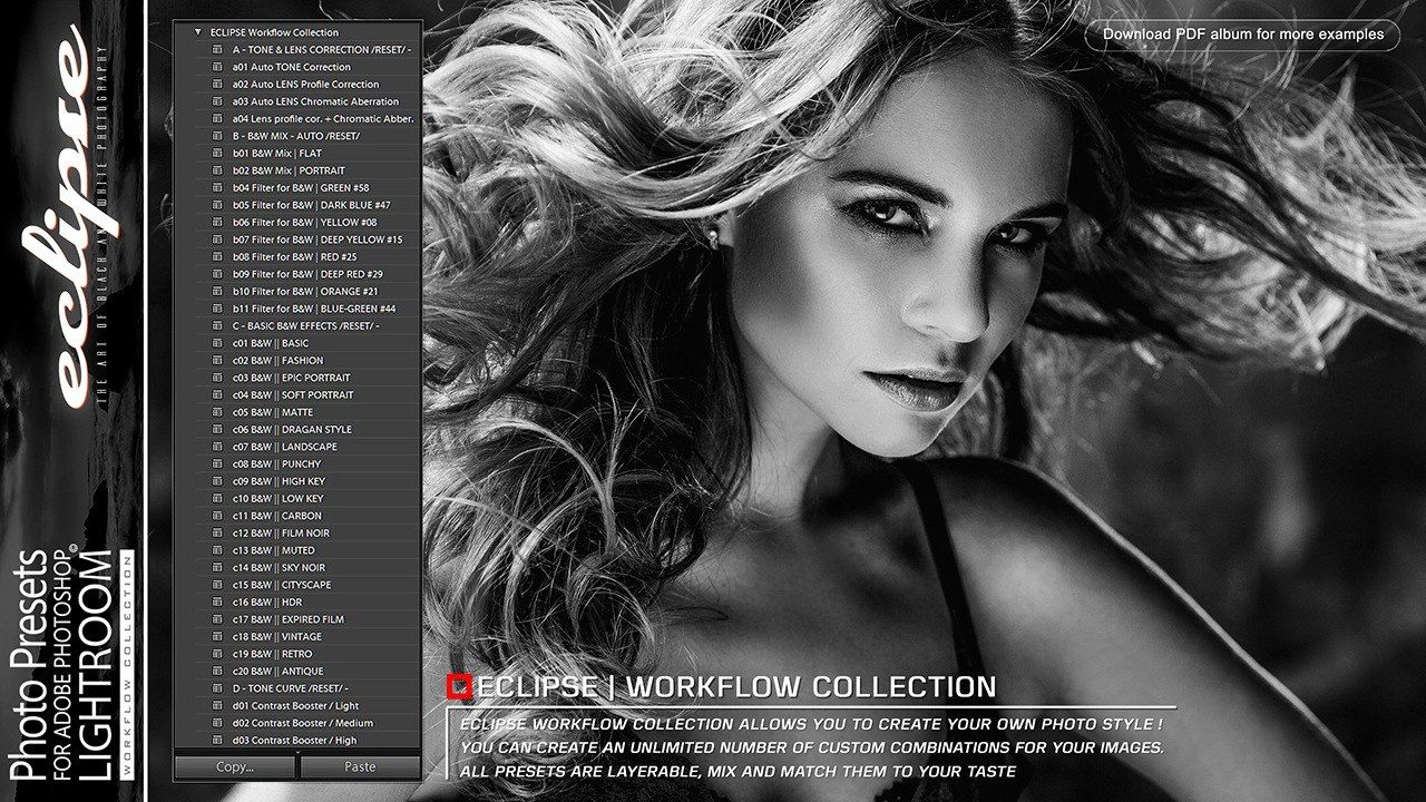 Presets For Lightroom Eclipse Preset Premiere Pro Photoshop End User License Agreement