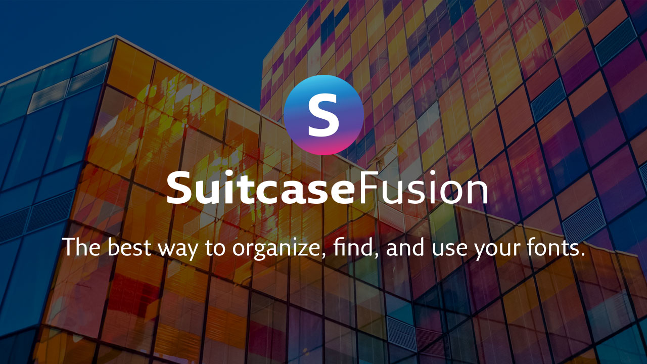 Suitcase Fusion for Mac (15-day Free Trial)