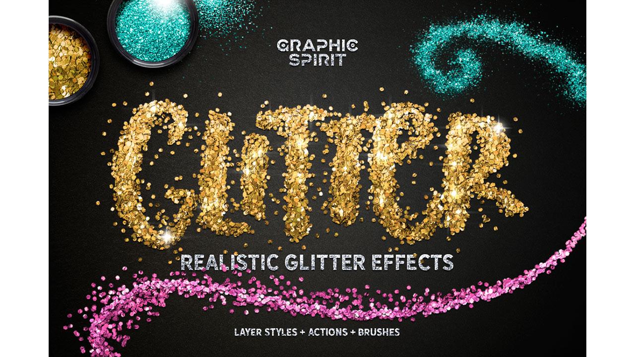 f125b307c02c GLITTER PRO - Styles, Actions, Brushes