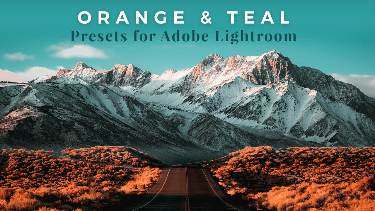 FREE Orange and Teal Presets for Adobe Lightroom